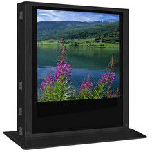 LG screen 72inch free standing waterproof outdoor advertising lcd display , Android 4.4.4 outdoor advertising