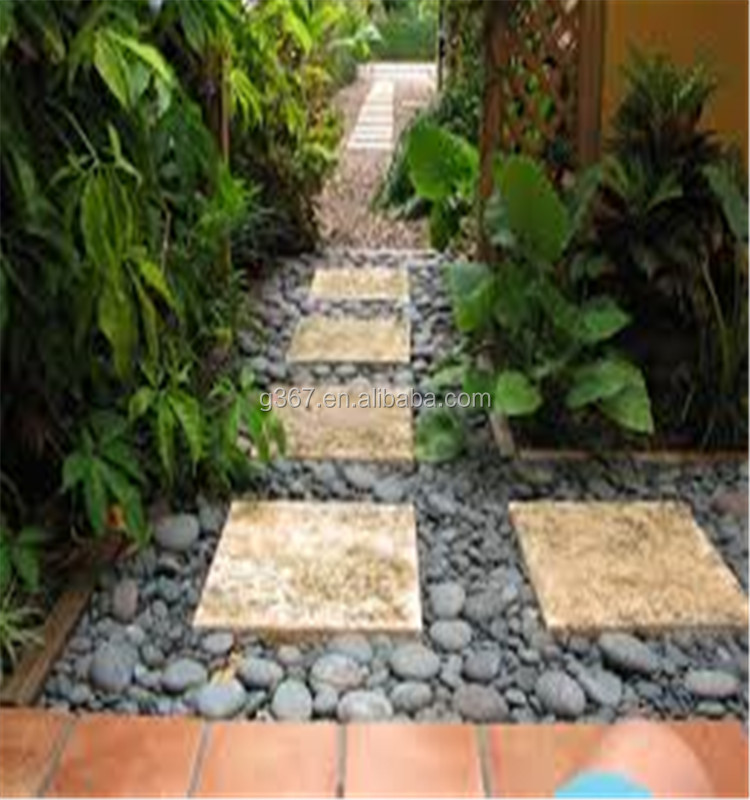 cheapest landscaping pebble stone and crushed marble stone chips