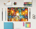 Colorful Oil painting laptop custom Design decal PVC vinyl Skin Paster for macbook pro 13 retina