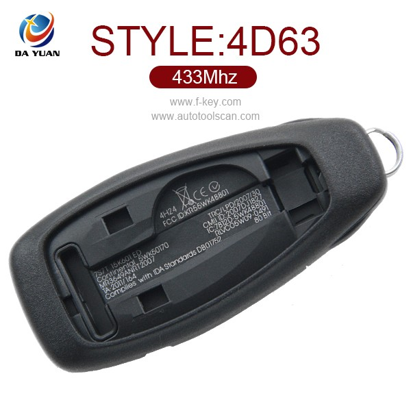 AK018042 for Ford Grand C-Max (2010 - 2015) Mondeo 4D63 remote control key