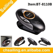 Oval Design Handfree Bluetooth Car Kit with LCD display BT8110