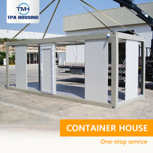 european croatia fabricated custom made steel frame portable moving living 20ft container house