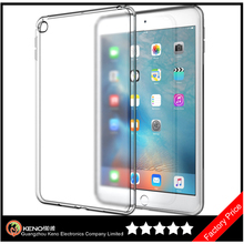Keno Premium Soft TPU Skin Flexible Bumper Semi-transparent Frosted Rubber Back Cover Case for Apple iPad Mini 4