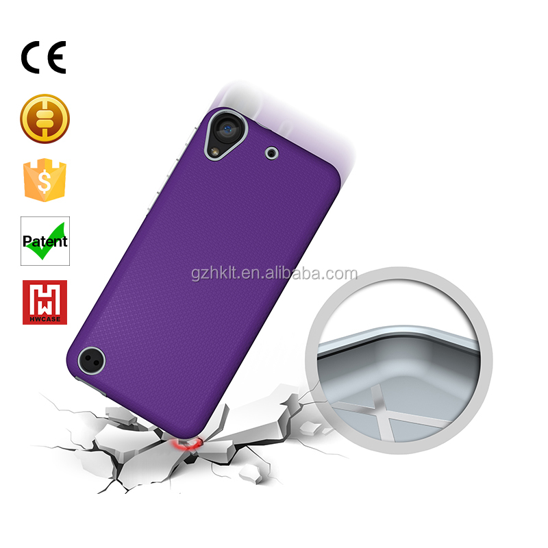 Funky cheap mobile phone combo case for HTC Desire 530 630