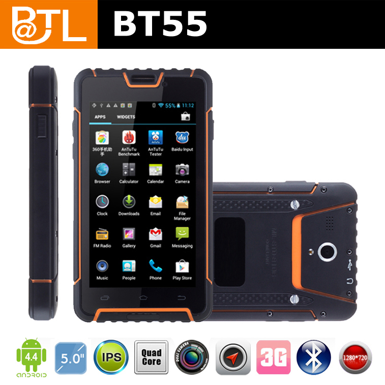 BATL BT55 NFC A-GPS OTG quad core android ip68 rugged phones for verizon