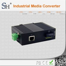 Anti-interference aluminium alloy excellent chip wall mount ethernet switch