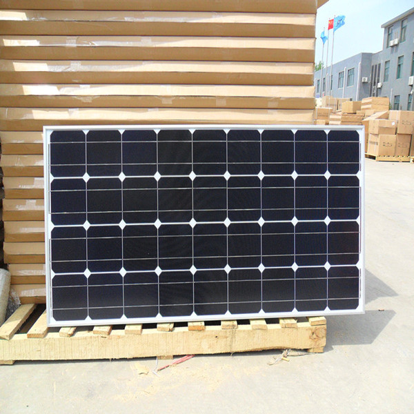 CE/ROHS certificated PV monocrystalline solar panel/140W monocrystalline solar panel