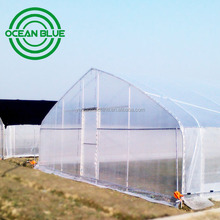 OCEAN BLUE LOW COST Vegetable commercial tunnel greenhouse for Sale for tomato