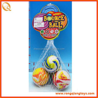 Funny 45mm Rubber bouncing ball for kids toys, skip ball SP71812015-6A-12