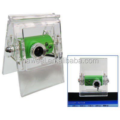 1.3 Mega Pixels USB 2.0 Driverless PC Camera / Webcam(Green)