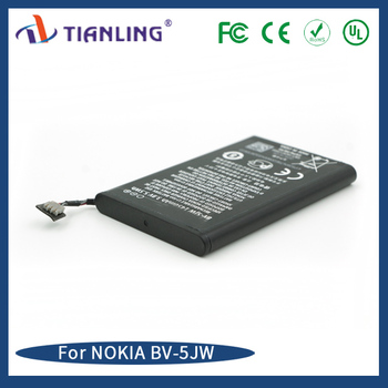 Cheapest price original battery BV 5JW for Nokia N9 Lumia 800 C