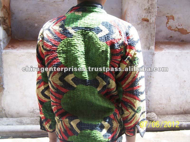 Best Bargain~Best quality Handmade Vintage Kantha Indian Jackets at lowest prices