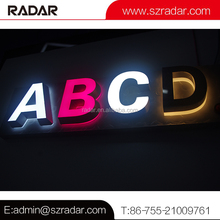 Waterproof acrylic channel letter advertising light box lighting board signages