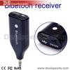 Bluetooth Music Receiver Handsfree Car Speaker with Microphone