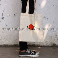 Promotional tote cotton or canvas bag with carton design