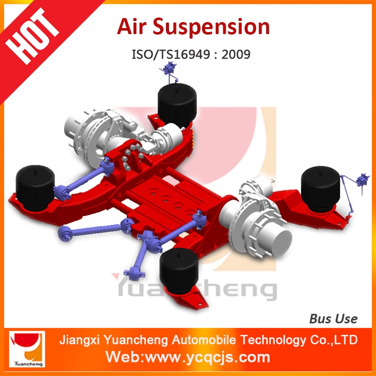 YCAS-105 Bus Air Suspension Systems Airbag Suspension System for 18m Bus
