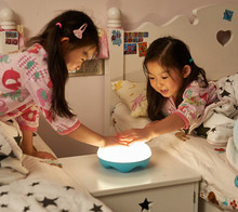 Custom made dimmable panda night light adjustable