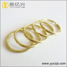 Eco-friendly brass material round wire key snap ring