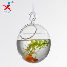 hanging clear glass vases wholesale glass fish bowl