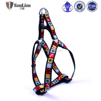 wholesale dog products puppy stars different shape of square pet harness and leash set