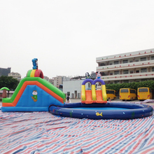 2017 new inflatable water park , air inflation water park equipment for children