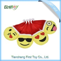 Fashion Design pp cotton christmas emoji plush stuffed toy