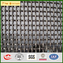 2016 hot sale High Tensile Heavy Crimped stainless steel wire mesh factory price