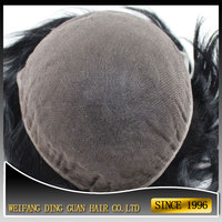 Nice Swiss Lace Toupee for Mens Super Thin Skin Quality Virgin Human Hair Full Lace Toupee