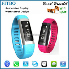 3Colors Sync Pedometer WIFI Spot android watch phone for Sony Z5 samsung C9000 + G9300