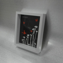Black White Plastic Shadow Box Frames For Oil Paintings Wholesale