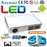 led projector best lumens video projector 800*600 full hd 1080p 3d smart projector