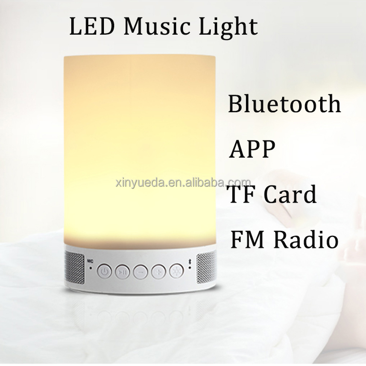 Wholesale APP control ce rohs led light bulb speaker wireless with TF card