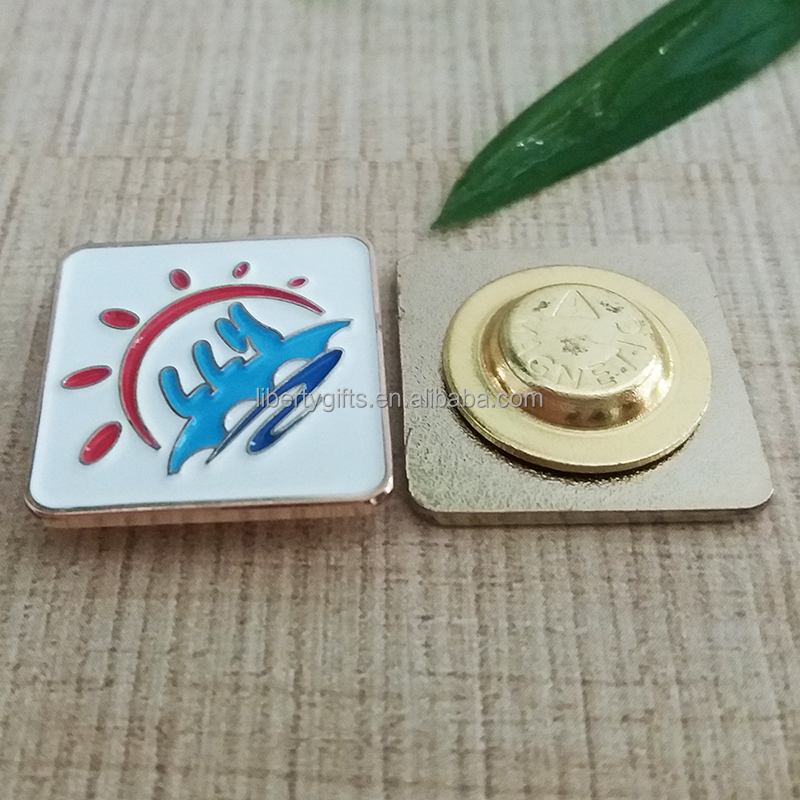 soft enamel strong magnet lapel pin
