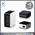 5USB station hand travel table multi-function 8A 40W 5-usb charger