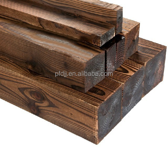 carbonized batten wood