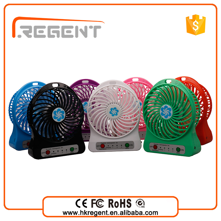 2016 new invention portable hand fan or table fan with 18650 li ion battery