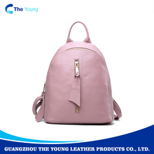 Oem ladies high quality lightweight casual blank backpack