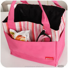 Attractive and durable stylish die cut cooler bag