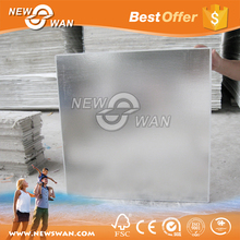 Low price 2x2 2x4 vinyl faced PVC gypsum ceiling tiles for Qatar