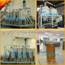 Waste Tire Pyrolysis Oil Distillation Plant/Oil Refinery Machine/Oil Refining System