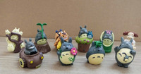 Plastic Totoro figure ,mini Totoro series toys,cartoon toys
