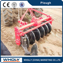 Deep hoe and low fuel consumption high quality walking tractor double disc plough