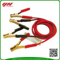 Safety power station jump starter battery booster cable
