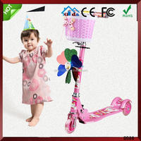 4 Wheel Kids Frog Adult Swing Scooter