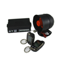 Two way car alarm system with remote start engine anti-theft alarm device