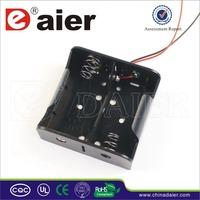 Daier 2 D cell 3v battery holder with spring D battery holder