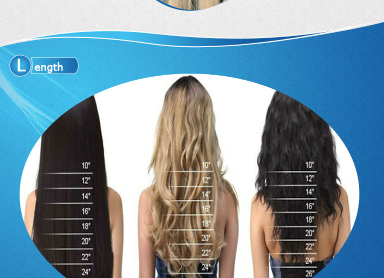 32 Inch Spiral Curly Remy Human Hair Extensions Clip In For Naturally