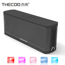 discount 2x5w waterproof computer bt bluetooth speakers with blue led light