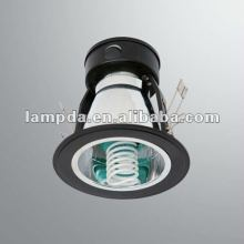 energy saving fluorescent E27 waterproof recessed downlight