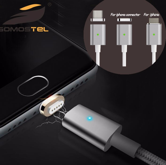 Magnetic Data Cable For iPhone Magnetic Charger Cable For Sony Android Smartphone with Data Sync Charger